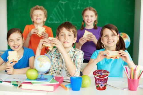 Obrázek k aktualitě Nový školní rok s jogurty z Valašska