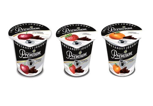 Nový Smetanový jogurt PREMIUM čokoládový