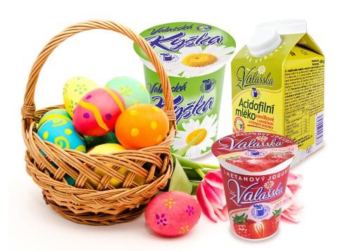 Obrázek k aktualitě Velikonoce svátky jara s Mlékárnou Valašské Meziříčí