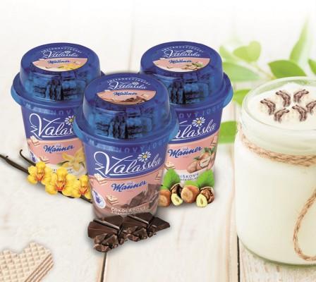 Obrázek k aktualitě Tradiční vídeňská firma Manner spolu s Mlékárnou Valašské Meziříčí  uvádí na trh společný výrobek