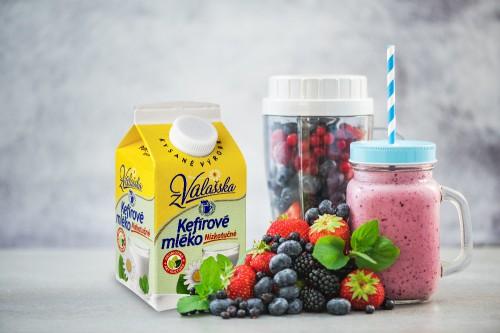 Nový rok zdravě s výrobky Mlékáren Valašské Meziříčí