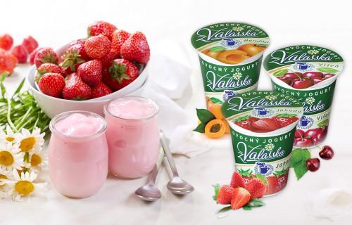 Obrázek k aktualitě Ovocné jogurty z Mlékárny Valašské Meziříčí