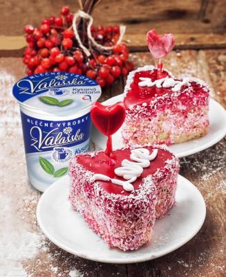 Oslavte svatého Valentýna - svátek zamilovaných s výrobky Mlékárny Valašské Meziříčí