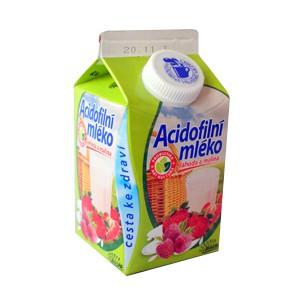 Obrázek k článku Mlékárenský výrobek roku 2012 – Acidofilní mléko jahoda a malina