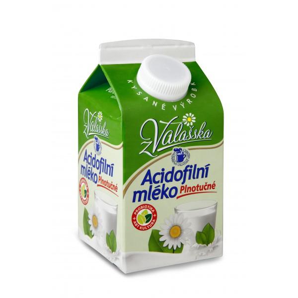 Acidofilní mléko plnotučné
