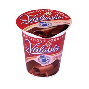 Smetanový jogurt z Valašska čokoláda