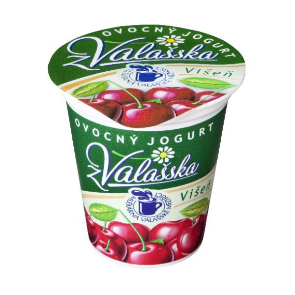 Ovocný jogurt z Valašska višeň