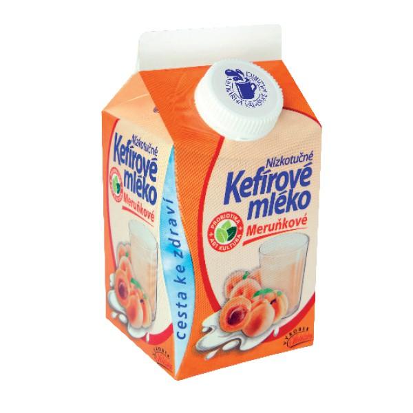 Kefírové mléko nízkotučné meruňkové