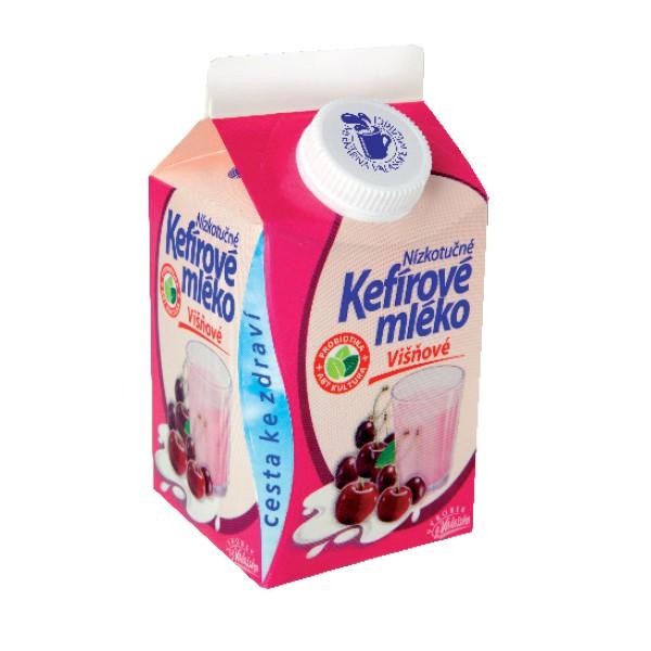 Kefírové mléko nízkotučné višňové
