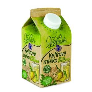 Kefírové mléko nízkotučné citron, bezový květ