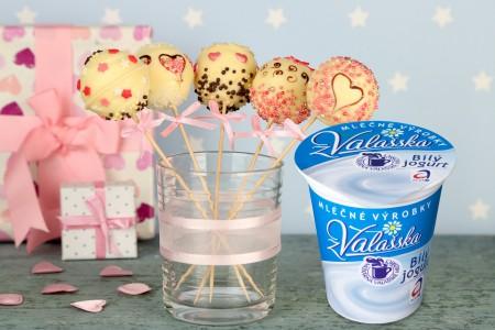 Valentýnské cakepops