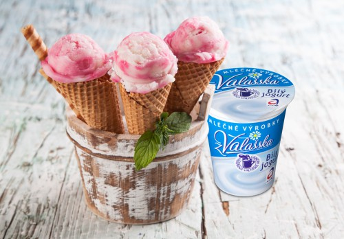 Zmrzlina s Bílým jogurtem z Valašska